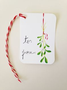 Hey, I found this really awesome Etsy listing at https://www.etsy.com/listing/252045238/christmas-gift-tags-mistletoe-gift-tags