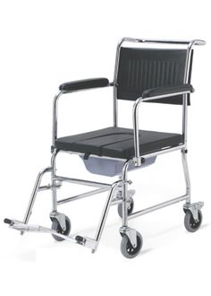 Extra-Wide PVC Shower Wheelchair / Commode Chair $298.00 FREE ...