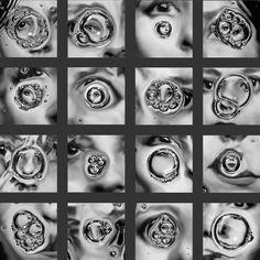 Laurence Demaison :: Petites bulles / Little Bubbles (complete series), 1998 more [+] by this photographer Distortion Photography, A Level Photography, Experimental Photography, Photography Projects, Fine Art Photography, Portrait Photography, Levitation Photography, Exposure Photography, Water Photography