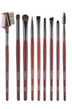 professional makeup with red wood makeup brush South American Countries, Red Wood, Professional Makeup, Makeup Brushes, Brushes