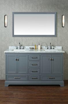Newport 60 Inch Single Sink Bathroom Vanity With Mirror U2013 Still Waters Bath