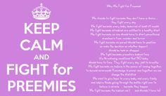 Not a fan of the keep calm sayings...but this one hits close to home..so lucky to have a happy healthy preemie!