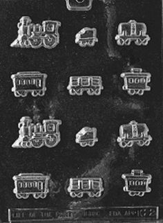Sugar Train Chocolate Candy Mold – PREEGLE.com - K022