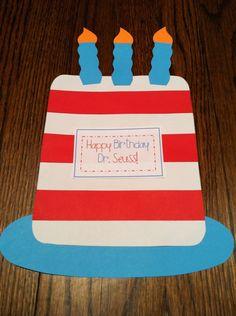 Dr. Seuss birthday cake!