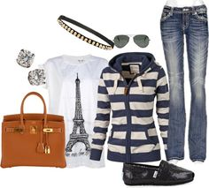 """San Francisco Travel Outfit"" by lisadfriedman on Polyvore"