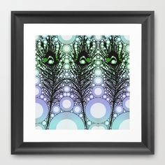 Tickler 2 (color option) Framed Art Print