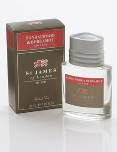 St James of London Sandalwood  Bergamot Cologne -- Check this awesome product by going to the link at the image.