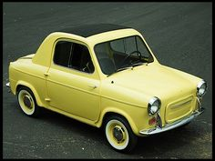 1960 Vespa 400 Coupe 393 CC
