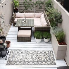 Take your patio layout design to the next level with our list of favorite ideas. Whether it is large patios, or fire pits you will find everything you need Outdoor Concrete Stain, Decking Area, Outdoor Flooring, Outdoor Decking, Deck Flooring, Deck Furniture, Outdoor Furniture Sets, Pallet Furniture, Ideas