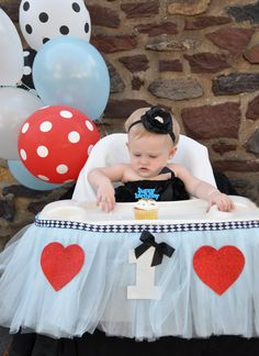 Alice in Wonderland Inspired Highchair by LilasLaundry on Etsy