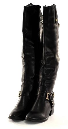 Womens BOOTS Brown Size 10 by XOXO Bardot Over The Knee Motorcycle ...