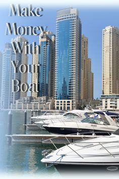 How To Make Money With Your Boat