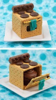 An Entire Oven In Cupcake Form!