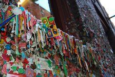 #Seattle Gum Wall