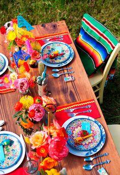 Bodas Estilo mexicano. Decoración de boda mexicanas