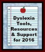 BEST Dyslexia Tools, Resources & Support for Parents and Teachers---2016 http://helpforstrugglingreaders.blogspot.com/2016/01/best-dyslexia-tools-resources-support.html