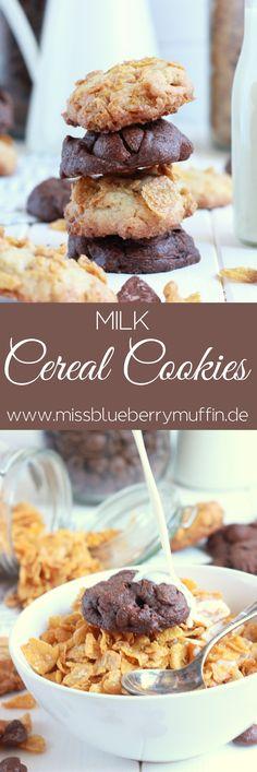 Cornflakes Kekse // Cereal Cookies <3                                                                                                                                                                                 Mehr