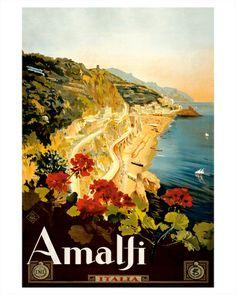 Costa de Amalfi, carteles e impresiones en Art.com