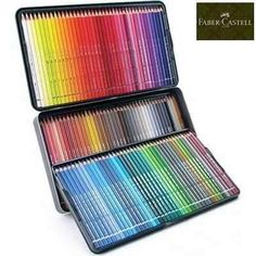 lápis de cor aquarela albrecht dürer faber-castell 120 cores