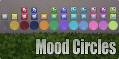Mood Circle by Saptarshi at Mod The Sims via Sims 4 Updates