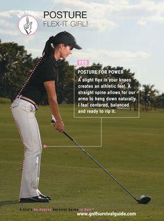 Golf Posture!