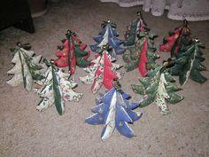 a zase vánoce - stromečky pro přátele