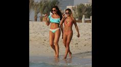 Jessica Wright shows off her stunning figure and recent weight loss in a ruffled bikini