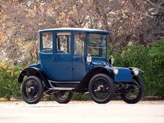 1914 #Detroit Electric Model 47 Brougham.  #Vintage is always full of #Swag