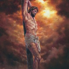 Did you know? Jesus hanging on the stake at the time of his death