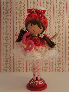 """Baby Shower Ornament Cake Topper Christmas by SweetiePieCaketopper on Etsy...6"""" high-2 1/2 wide"""