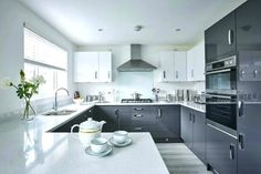 white and grey kitchen ideas gray and white kitchen ideas incredible grey designs decor pertaining to