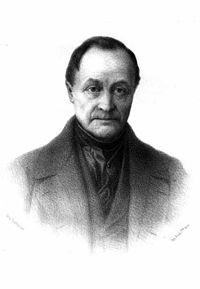 """Auguste Comte. Nació Montpellier, Francia,19 enero 1798 – París, 5 septiembre 1857, es considerado el creador del Positivismo. Se afirma que ésta, se basa en el conocimiento positivo, o sea en lo real, dejando a un lado teorías abstractas. Formuló la ley del espíritu humano, conocida como la """"ley de los tres estados"""": Teológico, Metafísico y Positivo. Para el filósofo, eran sucesivos y constituían tres etapas distintas del desarrollo del espíritu humano."""