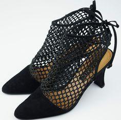 CASADEI Scarpe donna Camoscio Decolte Nero Tacco Tg 37 Strap Mesh Suede Shoes   | Одежда, обувь и аксессуары, Женская обувь, Обувь на каблуке | eBay!