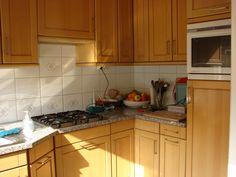 de oude keuken nu nog achter de toog die gaat verdwijnen