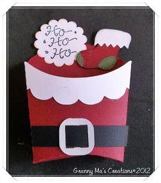 Granny Ma's Creative Blog: Search results for Santa fry box