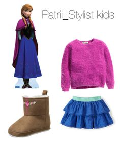"""""""Aitana"""" by patrii1989 on Polyvore featuring H&M and Luvable Friends"""