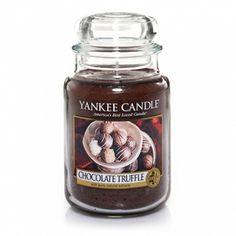 Chocolate Truffle : Large Jar Candle : Yankee Candle