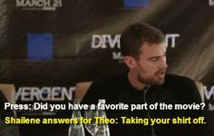 My favorite too Shai ~Divergent~ ~Insurgent~ ~Allegiant~