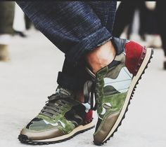 Amazing summer sneaker choice from Valentino