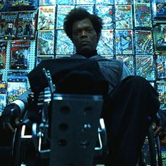 "Samuel L. Jackson as Elijah Price (Unbreakable): ""Now that we know who you are... I know who I am. """