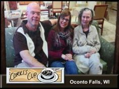 Oconto Falls Wisconsin's Corki's Cup of Joy on Our Story's What's Cookin
