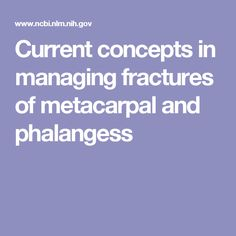 Indications and surgical techniques for metacarpal and phalangeal fractures