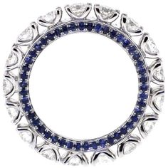 Celebrate your time together with this White Gold ct Genuine Diamond Sapphire Eternity Band Ring for Women from anniversary jewelry collection. Buy Diamond Ring, Diamond Bands, Diamond Wedding Bands, Diamond Jewelry, Real Gold Jewelry, White Gold Jewelry, Fine Jewelry, Gold Jewellery, Jewelry Rings