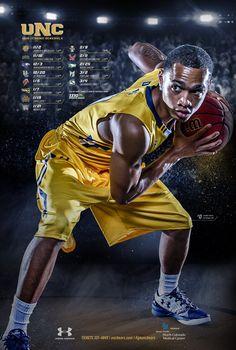 2016-17 Northern Colorado Men's Basketball Poster