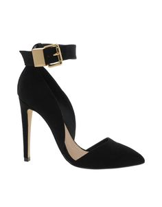 THESE SHOES! Omg. The sexy vamp, toe cleavage and buckle ankle strap are too much!