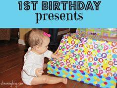 Excellent First Birthday Gift Ideas