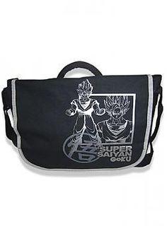 dragon ball z messenger bag super saiyan goku inverse