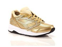 Diadora , Damen Sneaker gold gold, gold - gold - Größe: 38 EU - Sneakers für frauen (*Partner-Link)