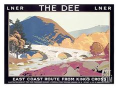 LNER, The Dee Giclee Print by Frank Newbould at Art.com