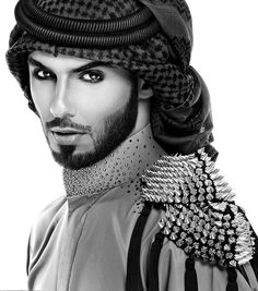 I chose this because of the man's looks. This is generally what Arabic men looked like. They had beards and were darked skinned.